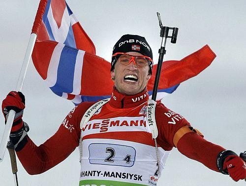Jauktajā stafetē triumfē Norvēģijas biatlonisti, Latvijai 18. vieta