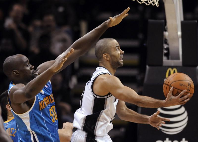 NBA nedēļas spēlētāji – Pīrss un Pārkers