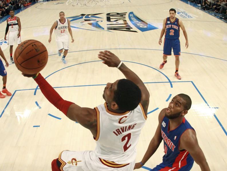 Īrvings - 2012. gada labākais NBA jaunais spēlētājs