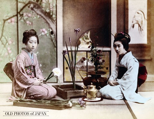 Ikebana - japāņu ziedu kārtošanas māksla iekšēja miera un harmonijas sasniegšanai
