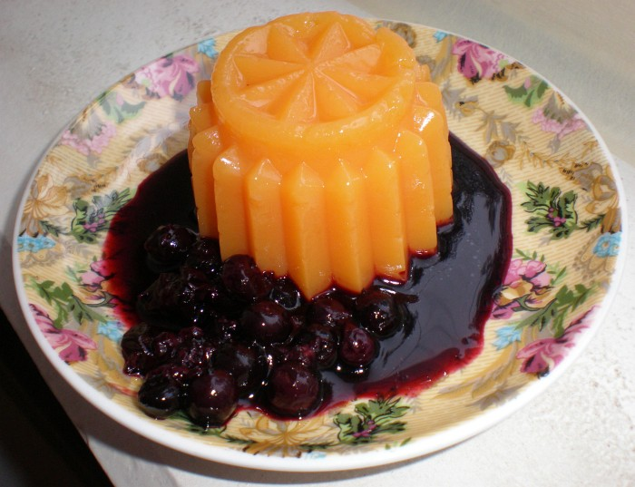 Ķirbju deserts ar upenēm vai dzērvenēm