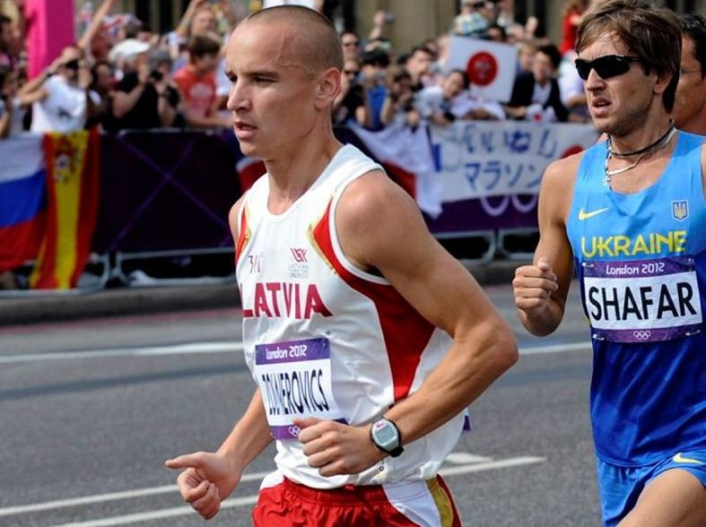 Žolnerovičs otro reizi šogad labo Latvijas rekordu maratonā