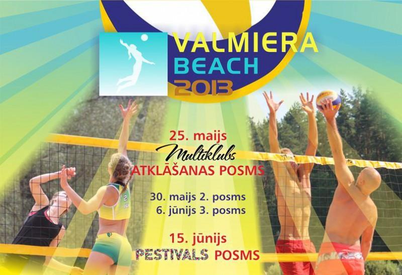 """25.maijā startē """"Valmiera beach"""" čempionāts"""