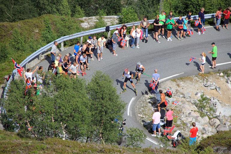 """Norvēģi bez uzvarām """"Lysebotn opp"""" rollerslēpošanā, biatlonistiem dažādas sekmes"""