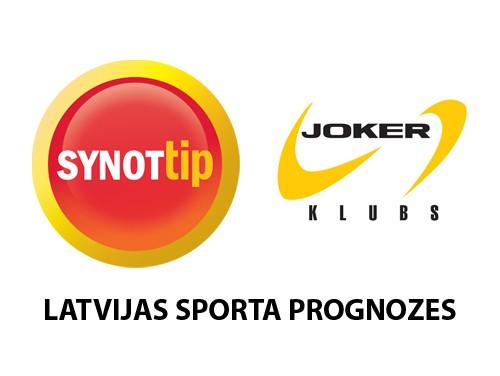 Konkurss: SynotTip un Joker klubs Latvijas sporta prognožu spēle - publicēti pēdējie jautājumi