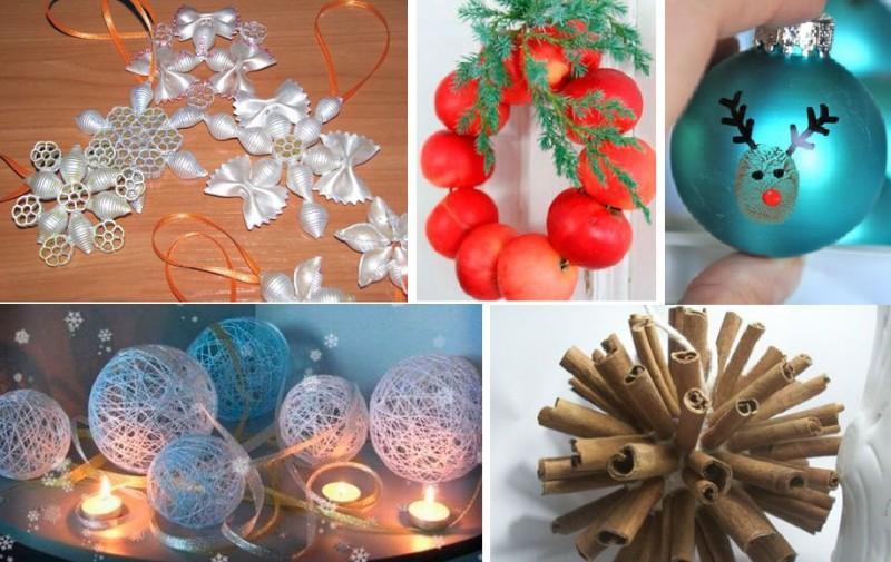 Oriģināli Ziemassvētku un Jaunā gada rotājumi. 10 radošas idejas