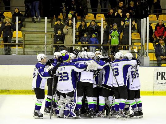 Latvijas hokeja Virslīgā spēlēs septiņas komandas