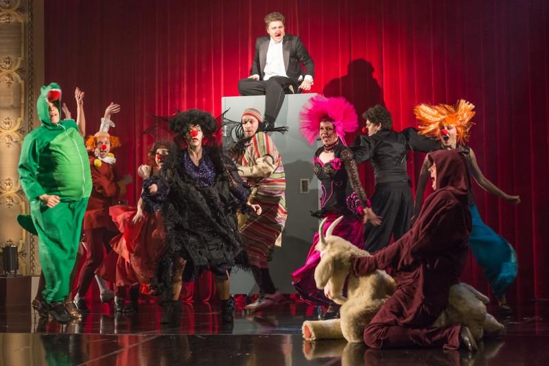 """Nacionālajā teātrī jautrs un izklaidējošs uzvedums – """"Ž-ž-Žurka klāt!"""""""