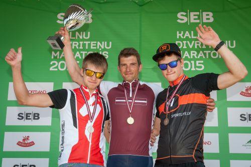 SEB MTB Vietalvas posmā Zīmelis un Ardava izcīna Latvijas čempiona titulus