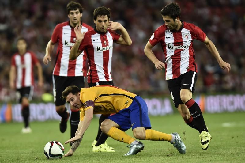 ''Athletic'' iesit no centra un ar 4:0 piesmej ''Barcelona''