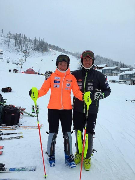 K.Zvejnieks un L.Gasūna desmitniekā spēcīgās FIS sacensībās slalomā Zviedrijā