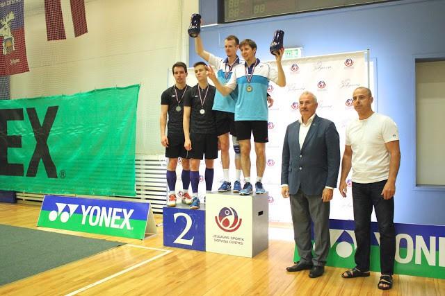 Turnīrā Jelgavā triumfē Krievijas badmintonisti