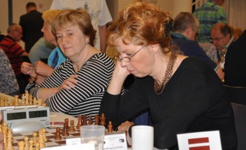 Latvijas sieviešu senioru izlasei bronza pasaules čempionātā šahā