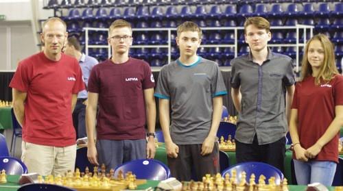 Latvijas izlasei debijā 26.vieta pasaules jauniešu olimpiādē šahā