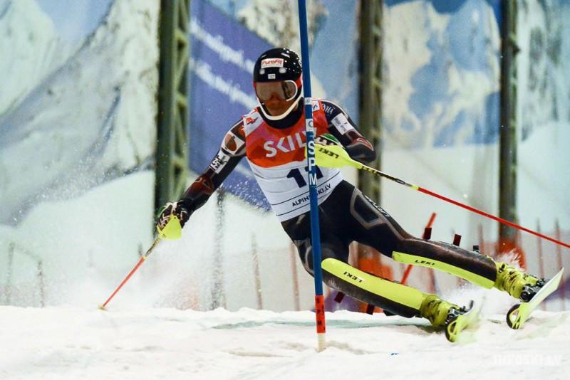 Baltijas kausā paralēlajā slalomā uzvar K. Zvejnieks un Bondare