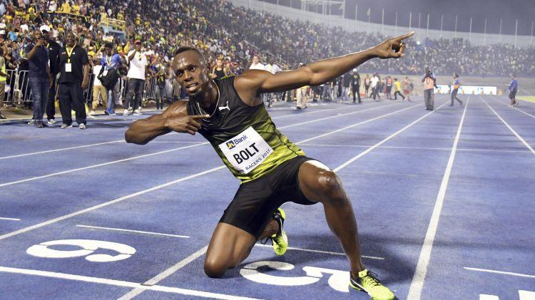 Bolts 100 metru distanci veic 9,95 sekundēs un uzvar Dimanta līgas posmā