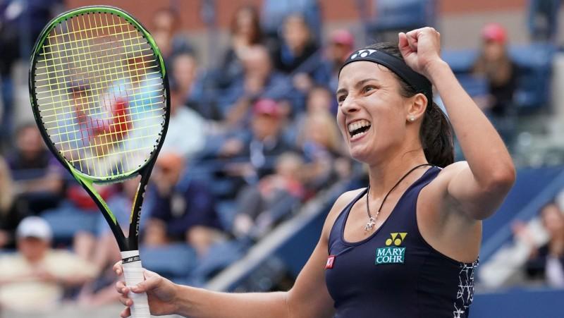 """Sevastova pārspēj titulēto Šarapovu un otro reizi iekļūst """"US Open"""" ceturtdaļfinālā"""