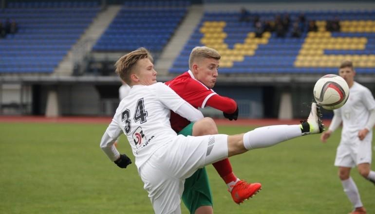 """""""Liepājai"""" atbildes spēle UEFA Jaunatnes līgā par vietu otrajā kārtā"""