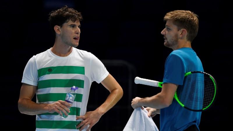 """Tīms un Gofāns sadalīs pēdējo ceļazīmi uz """"ATP Finals"""" pusfināliem"""