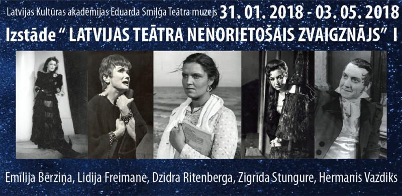 Latvijas teātra nenorietošais zvaigznājs