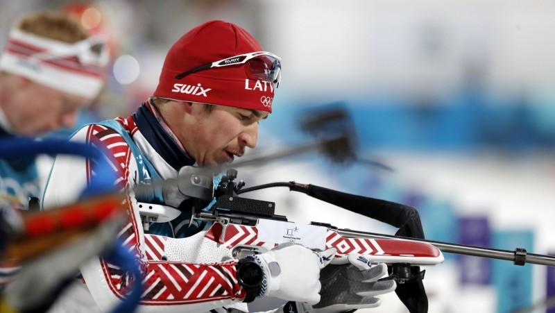 Biatlona sezonas turpinājums: sprints Kontiolahti