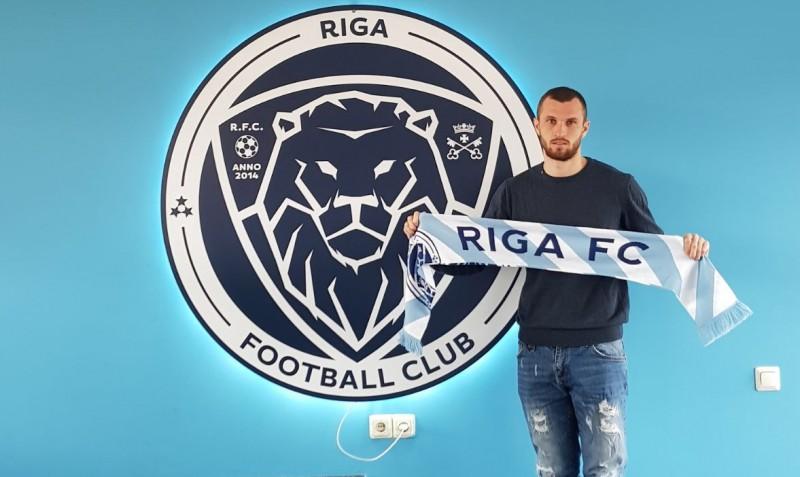 """Pēc zaudējuma Liepājā """"Riga"""" FC paraksta līgumu ar ukraiņu centra uzbrucēju"""