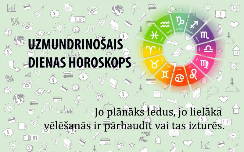 Uzmundrinošie horoskopi 14. aprīlim visām zodiaka zīmēm