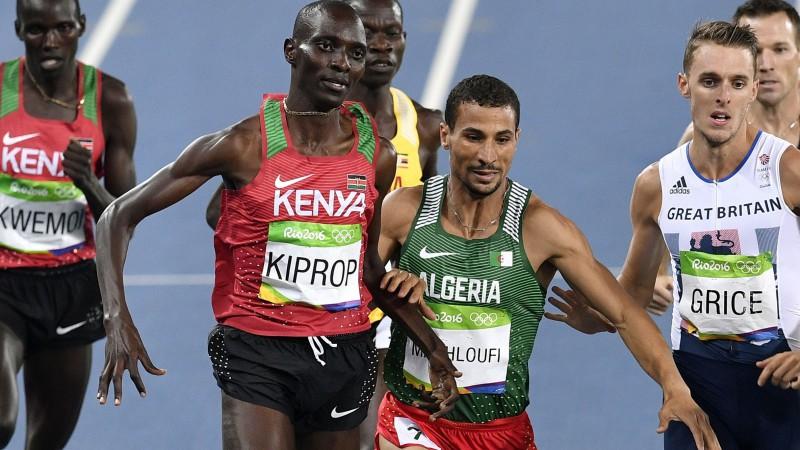 Olimpiskais čempions 1500 metros Kiprops pieķerts dopinga lietošanā