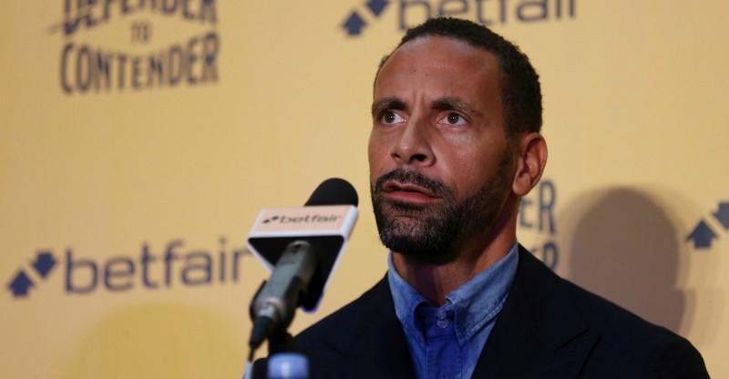 Futbola zvaigznei Rio Ferdinandam atteikts boksa licences piešķiršanā
