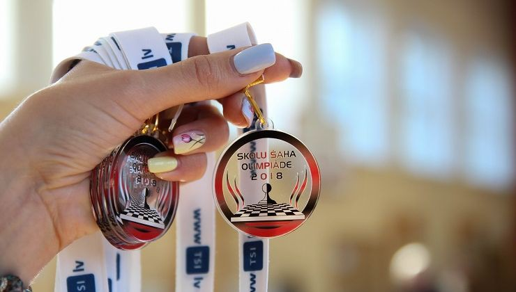 Latvijas Skolu šaha olimpiādes finālā Rīgā tiksies labākie no labākajiem