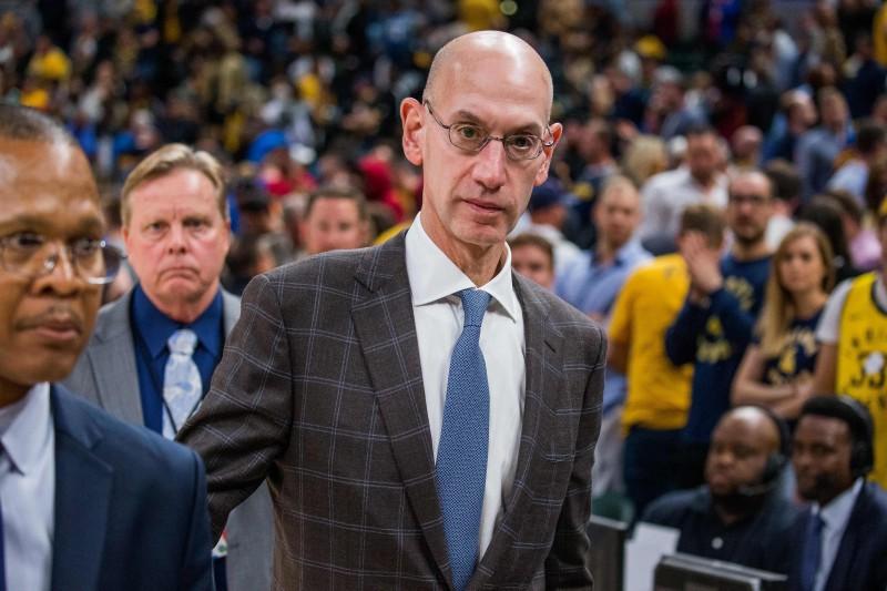 NBA komisārs saņem nāves draudus, vainīgo aiztur