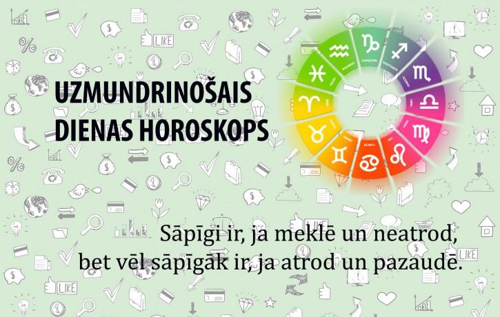 Horoskopi veiksmīgai dienai 25. maijam