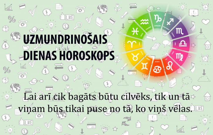 Horoskopi veiksmīgai dienai 28. maijam