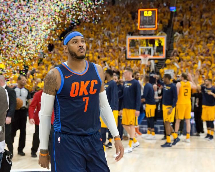 """ESPN: Entonijs nepaliks """"Thunder"""" un jau šovasar kļūs par brīvo aģentu"""