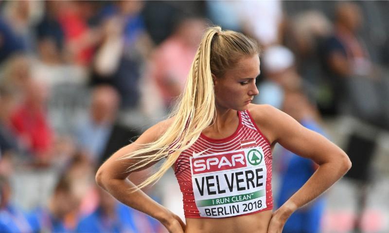 Velverei Latvijas rekords 1000 metros telpās, Bukšai divas simtdaļas līdz rekordam