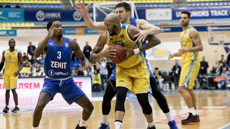 """""""Zenit"""" zaudē arī Astanā un VTB sezonu turpina bez uzvarām"""