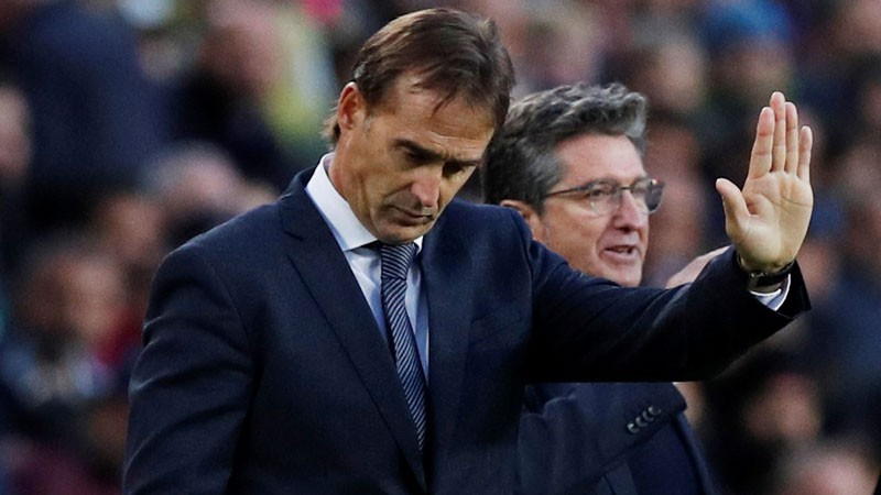 """Madrides """"Real"""" pēc 139 dienām amatā atlaiž Lopetegi"""