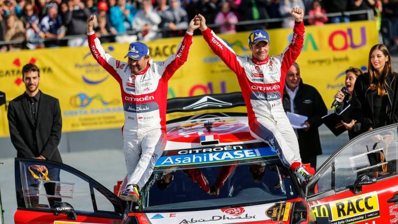 """Lēbs: """"Iespējams, Spānijas WRC rallija panākums ir mana lieliskākā uzvara"""""""
