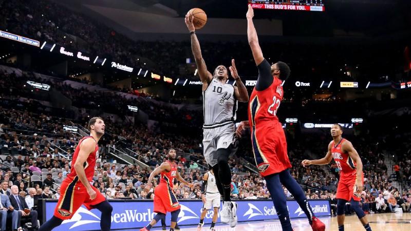 """""""Spurs"""" sagādā """"Pelicans"""" kārtējo zaudējumu, Oladipo izvelk Indianas uzvaru pret """"Celtics"""""""