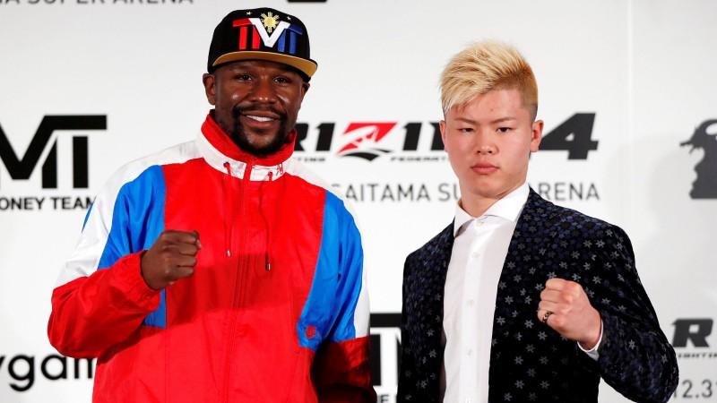 Meivezers Vecgada vakarā Japānā aizvadīs cīņu ar MMA zvaigzni