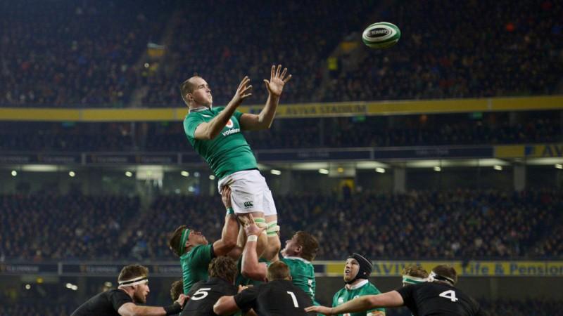 Dublinā savā starpā tiksies pasaules spēcīgākās regbija izlases - Jaunzēlande un Īrija