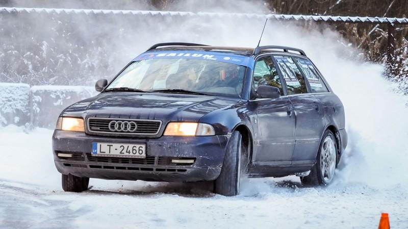 Rīgas Ziemas kausa 1. posmā triumfē Jānis Hāns ar ''Audi A4''