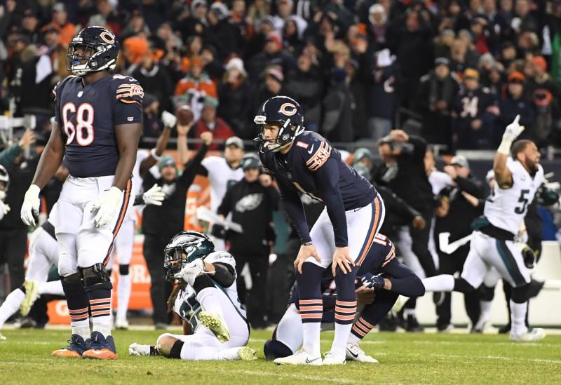 """Drāma Čikāgā, bezspēcība Hjūstonā – aizvadīta pirmā NFL """"playoff"""" kārta"""
