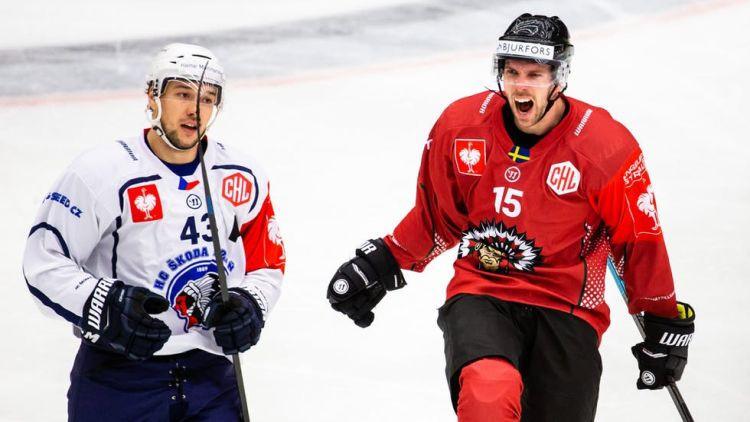 """""""Frolunda"""" tuvojas IIHF Čempionu līgas finālam, otrā pusfinālā bezvārtu neizšķirts"""