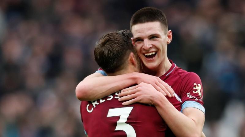 """Īru pusaudzis Raiss pasniedz """"West Ham"""" uzvaru pār """"Arsenal"""""""