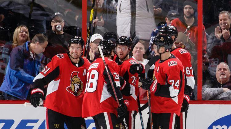 Balceram trešais punkts NHL, Otava vēlreiz pārliecinoši uzvar