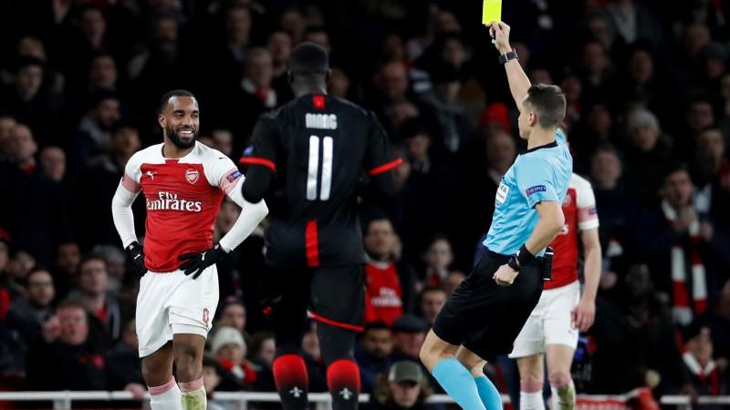 """Treimaņa uzraudzībā """"Arsenal"""" atriebjas Rennai, """"Slavia"""" šokē Eiropu"""