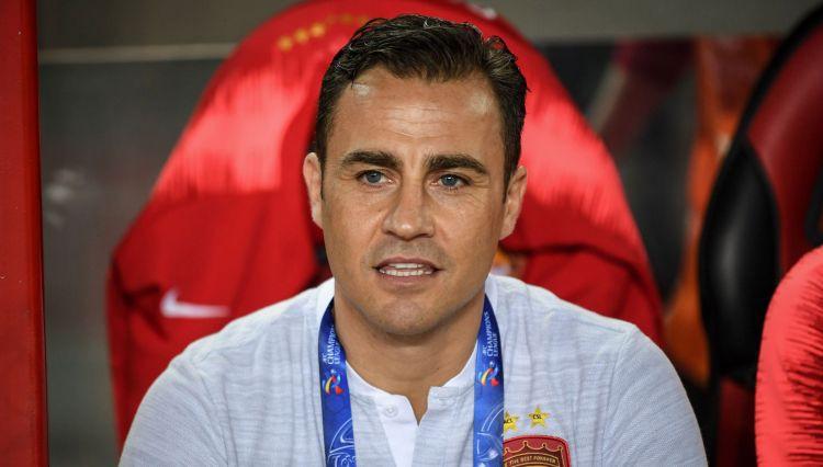 Itālijas futbola leģenda Kannavaro kļuvis par Ķīnas izlases galveno treneri