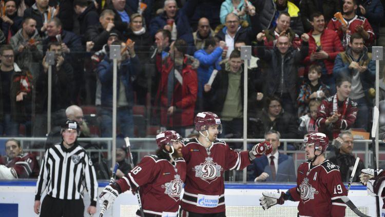 """Rīgas """"Dinamo"""" Eiropas apmeklētāko hokeja klubu rangā pakāpjas uz 25.vietu"""