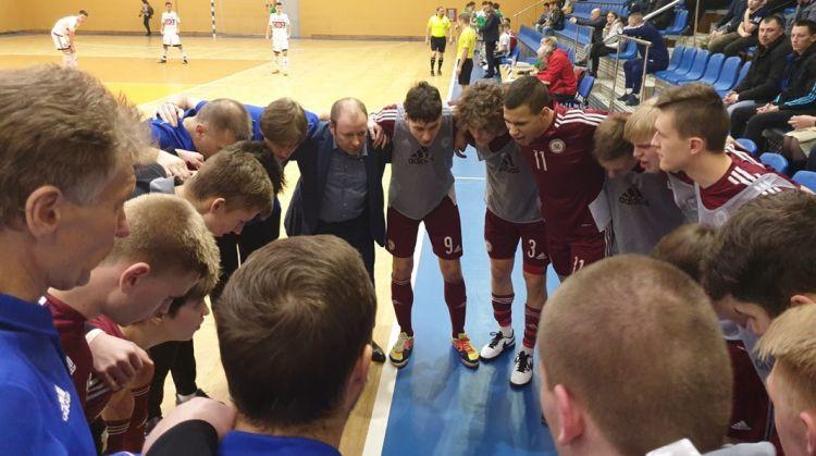 U19 izlasei divi zaudējumi pārbaudes spēlēs pret Baltkrieviju